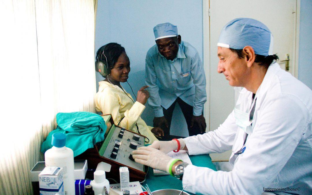 2012 – Apertura del Servizio Otorino a Bangui